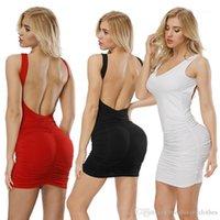 Skinny Mini Dress Hip Up Party Formal Dressing Women Sexy Evening Club Dresses Fashion Backless Slim Fit