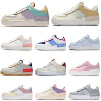 shadow air running shoes forces Tropical Twist Spruce Aura triple white airforce 1 womens mens trainers ourdoor sports sneakers platform