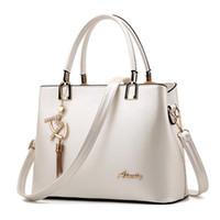 Top-Handle las mujeres bolso bolso de mensajero de las mujeres de la vendimia Bolsas de moda de lujo compuesto monedero del bolso de cuero de la carpeta