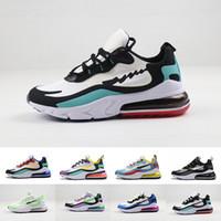 Mens 270 Reagire V2 Vision scarpe da corsa delle donne Ins di qualità dell'aria delle scarpe da tennis classico Formatori Size 36-46