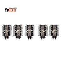 Yocan броня катушки катушки замена qdc распылитель operizer Core кварцевой двойной катушек Vape бак для испарителя набор 100%