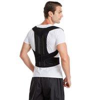 Terug Ondersteuning Verstelbare Taille Houding Corrector Trainer Schouder Lumbar Brace Spine Belt Vest Fixer Tape