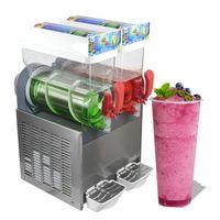 Бесплатная отгрузка на дверную кухню 110 / 220V Smoothie замороженные напитки машина Маргарита охлаждающая слякотка Slushie Maker