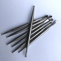 Лучшего качество титан Инструмент Gr2 Titanium Dabber длина 110 мм с точкой Tip Болла и Spoon Tip Dabber