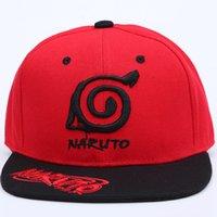 2020 nuevo anime Naruto amantes al aire libre del casquillo del Snapback de bordado gorra de béisbol de madera Hojas Village sombreros para los hombres de las mujeres