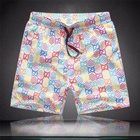 2020 Atacado Verão Moda Mens Shorts Board Curto Rápido Swimwear De Swimwear Impressão Board Pants Pants Homens Swim Shorts