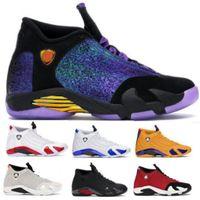 Doernbecher 14 Мужская Баскетбол обувь кроссовки Gym Red Royal Последний выстрел Desert Sand конфета Thunder 14s Дешевые 2020 Новый прибытия Корзина обувь