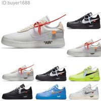 Nike Air Force 1 one AF1 Off White Novo Off Men Running Shoes Froced 1 Low Sneakers F0RCEs Um dos homens Trainers Skate Sports One Sports Branco Air Designer 36-45 CP2D8