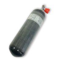 AC16811 Acecare 6.8L de 300 bares 4500psi CE Cilindro para el salto de la botella buceo con depósito de aire comprimido pistola PCP fibra de carbono con la válvula Submarino