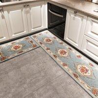 Mutfak halı uzun su emme yağ geçirmez ve ev kir direnci paspas yatak odası banyo kaymaz ayak paspası alan halı