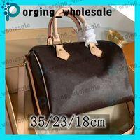 Speedy handbags pronta bolso Adies bolsas de mensajero clásico del estilo de la moda bolsa bolso de hombro bolsos de las señoras bolso Speedy Con correa de hombro Bolsa de polvo