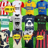 2021 Mexico Jersey Club America Tijuana Soccer Jerseys Pachuca Guadalajara Chivas Jigres Unam Cruz Azul كرة القدم قميص حارس مرمى
