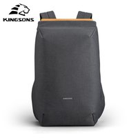 Kingsons new waterproof backpacks USB charging school bag anti-theft men and women backpack for laptop travelling mochila 200918