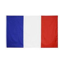Fr Frankrijk franse nationale vlag voor decoratiewolesale stock freeshipping 100% polyester 3x5 fts 90 * 150cm