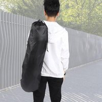 Skateboarding Ajustável Black Longboard Backpack Skateboard Carry Bag Dance Board Drift Viagens Rucksack Shouler Drawstring
