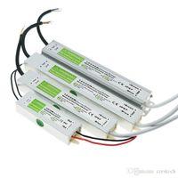 DC12V IP65 impermeabile Alimentazione AC110-240V imput uscita DC12V 10W 20W 30W 45W 60W 80W 100W 150W 200W principale trasformatori