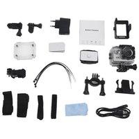 SJ4000 1080P Caméra d'action HD Full HD Sport caméscope DV DVR Silver