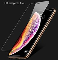 Screen Protector for iPhone 11 Pro Max 8 7 Plus Tempered Glass Mobile Phone Films for LG stylo 5 Moto E6