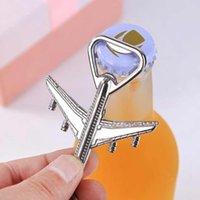 Aircraft Keychain Beer Opener Airplane Keychain Beer Bottle Opener Keyring Birthday Wedding Party Favors Airplane Keychain Openers ZZA1832