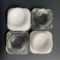 Custom Printed Concentrate Extract Dab Container Glass Packing 5ml 7ml 9ml Glass Jar Premium Food Grade Thick Glass Wax Storage Smell Proof