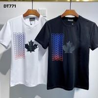DSQ PHANTOM TURTLE 2020SS New Mens Designer T shirt Italy fashion Tshirts Summer Men DSQ T-shirt Male Top Quality 100% Cotton Top 3991