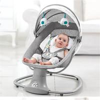 Passeggini # sedia comodità infantile reclinabile bambino a dondolo elettrico nato a cubetti da letto letto per 0-3 anni