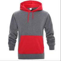 Herren Hoodie neuen Herbst-Winter-Vlies-Malerei Pullover Thick Loose Women Männer Hoodies Hot Harajuku Kontrast-Farben-Sweatshirt Weiblich