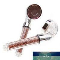 El ahorro de agua de ducha Cabeza negativo vitamina C Eco Spa Aroma Sentido mineral de iones de oxígeno saludable Hair Salon boquilla del aspersor rociador de filtro