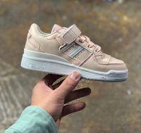 Hot offiziell enthüllt FORUM MID LOW Blau, Rosa, Weiß Turnschuh-Jungen-Mädchen-Kind-Sport Jogging-Schuhe Sport Jogging-Schuhe für Kinder