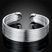 Armband mode vrouwen favoriete zilveren kleur sieraden retro Europese stijl trend voor dame ketting open armband B023