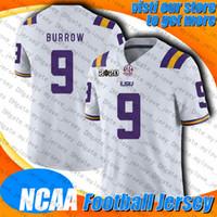 NCAA LSU University 9 Joe Burrow 12 Tom Brady 13 Mike Evans Jersey Chris Godwin 87 Rob Gronkowski Jerseys Lavonte David