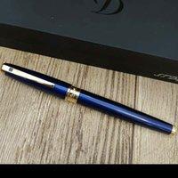 DuPont Füllfederhalter blau goldene Büro- und Schulschreiben Lieferungen Geschenkstift Luxus für Geschenkempfehlung Pen