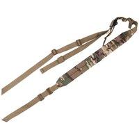 Suporte de cintura ajustável 90-120 cm ombro corda multifuncional alça estratégica alimentação ao ar livre para caçar esportes de acampamento