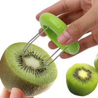 Creative Mini Fruit Kiwi Cutter Peeler Slicer Kitchen Bar Supplies Gadgets Tools For Pitaya Vegetable Fruit Tools Shredders Slicers