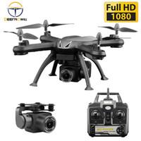 X6S drone vs xy4 vs e58 drone x6s hd câmera 480p / 720p / 1080p quadcopter fpv dron um-botão retorno voo pairo rc drone brinquedo