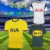 Player versão 20 21 KANE SON Bergwijn de Futebol 2020 2021 LUCAS SPURS DELE TOTTENHAM Futebol Jogo da camisa NDOMBELE Homens uniformes crianças kit