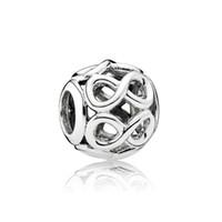 NUEVO 100% de plata esterlina 925 1: 1 791 872 Shine auténtico infinito encanto de la pulsera de las mujeres joyería original