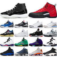 air jordan retro basketball shoes chuhe Herren Trainer Jumpman 11s Bred 25th Anniversary air jordan retro basketball shoes 12s University Gold 4s Neon 5s Traube 13s Flint