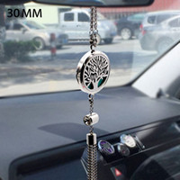 Car Ornament Perfume Bottle Pendant Lockets Folder Essential...