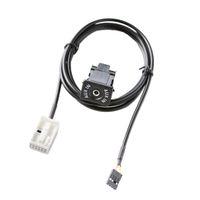 AUX USB Switch Cable For RCD510 RCD310 VW Golf GTI R MK5 MK6 Jetta