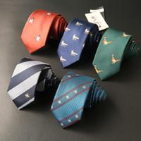 ORINERY 2020 مصمم جديد 26 الألوان نحيل العلاقات التطريز الكورية نمط أزياء الرجال هدايا الزفاف ربطة العنق الأعمال سليم التعادل