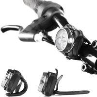 Велосипедные огни USB аккумуляторный светильник Super Bright передняя фара и задний светодиодный велосипед 650 мАч литиевая батарея 4