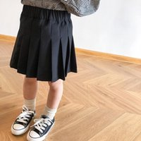 INS Детская одежда Девочки оборками Юбка Дети принцессы платье весна осень моды Бутик Хлопок Юбки Детская одежда