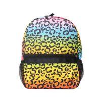 메시와 시어서커 레오파드 유아 배낭 소프트 코튼 치타 학교 가방 어린이 도서 가방 DOM187을 포켓