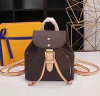 Atacado novas senhoras bolsa de ombro feminino anti-roubo saco de cordão de lazer mini-mochila balde grande capacidade de moda em couro