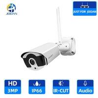 3.0MP WIFI IP Kamera Açık Kızılötesi Gece Görüş Güvenlik Video Gözetim Ses Kayıt Jooan NVR için Kablosuz Kamera