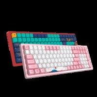 Klavyeler Akko 3096 Yasak Şehir Mekanik Klavye 100 Tuşlar 85% PBT KeyCap Orijinal Kiraz Ekseni