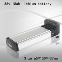 Lithium 36v 18ah Li Ion Battery Pack with BMS for Mountain Bike Electric Bicycle + 42V 2A Charger