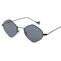 Retro Sonnenbrille Frauen Männer Polygonrahmen Luxus Unisex Marke Designer Sonnenbrillen Reise Lässige Charming Brillen