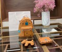 Cor-de-rosa Sugao Mochila Carta Designer Backpack para mulheres menina de alta qualidade estilo de moda 3 pcs / set 2020 novo estilo mochila mulheres saco de escola mulheres